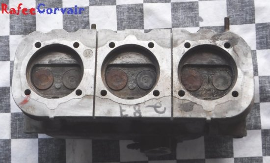 1962-63 Turbo head, right side, used, #RTB21