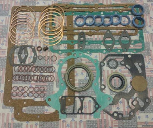 1962-64 Complete Engine Gasket Set, HD,Turbo only,#,REN618