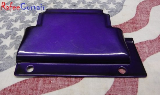 1968-1969 12 Plate Oil Cooler Cover, purple haze, #RPC025