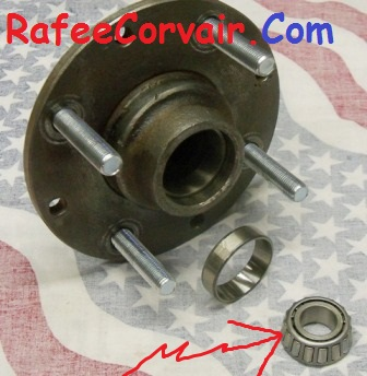 1960-64 front hub outer wheel bearing, #RFS39
