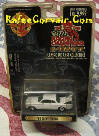 1960 white, Racing Champions, die cast,#RTZ08