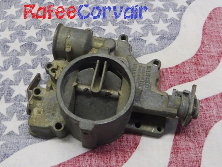1961 carburetor top, used, #RFS410