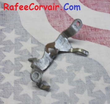 1964-69 carburetor throttle shaft lever, used, #RFS130
