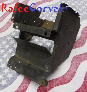 1962-64 air box rear, left side, 8 plate, used, #RBO25