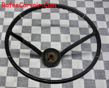 1965-66 steering wheel, used, #RIA90