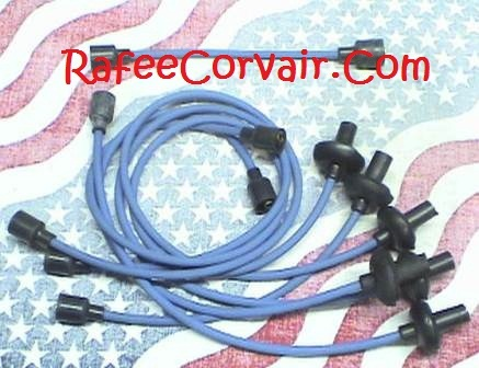 1960 spark plug wires ,7mm,blue,#RIG56