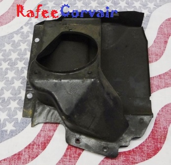 1962-63 turbo shroud right front, used, #RBO258
