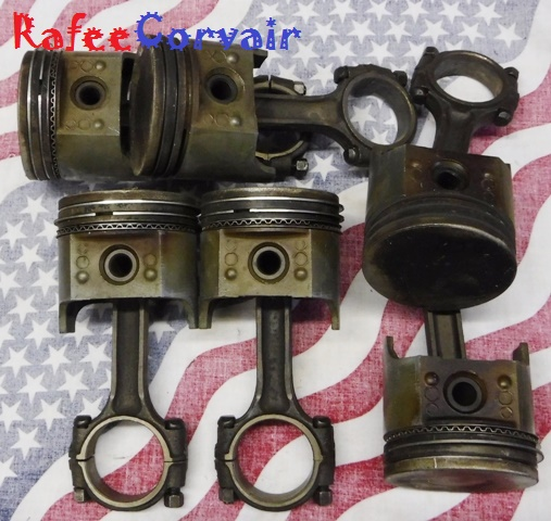 1960-63 Pistons & 1964-69 Rods, size.060, used, #REN456 - Click Image to Close