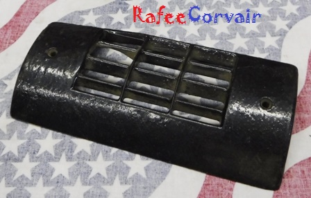 1962-63 heater grille, convertible, left, used, #RHA74