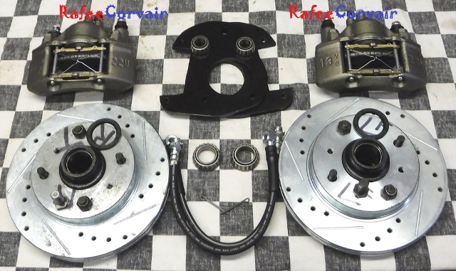 "1960-64 Front Disc Brakes Kit, 14 to 17"",#RBP04 - Click Image to Close"