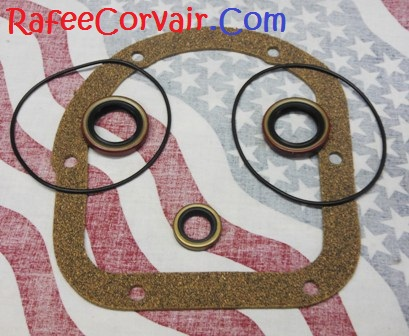 1960-63 differential gasket & seal kit, std, RDP79