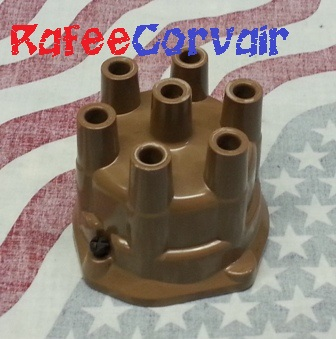 1962-69 Distributor Cap, brown, #RIG06BR