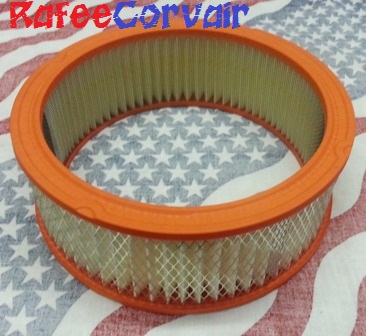 1964-69 Fram air filter, 110/140 HP, #RAC03