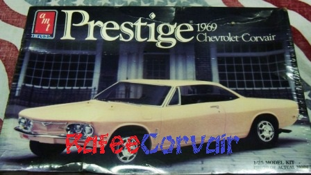 1969 Prestige corvair model, #RTZ14