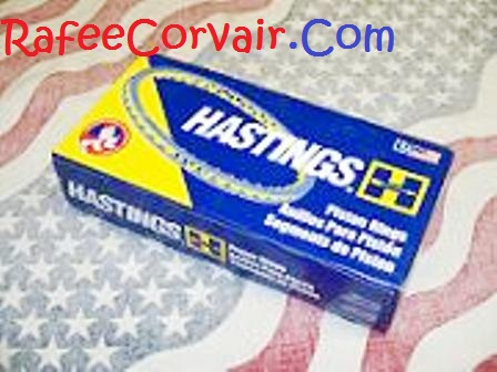 1961-63 Hastings Cast iron Piston Rings, .020,#REN98