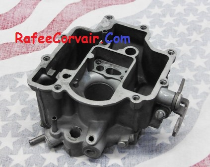 1962-63 primary carburetor bowl, used, #RFS418