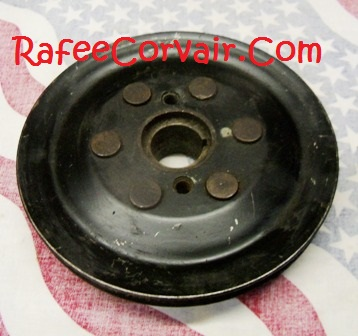 1960-63 used riveted pulley, #RUP912