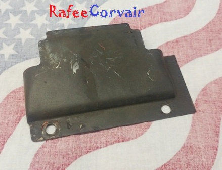 1968-69 12-plate oil cooler cover, used, REN864